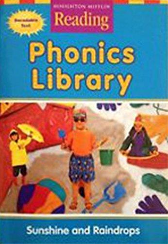 9780618161928: Sunshine and Raindrops (Houghton Mifflin Reading, Phonics Library)