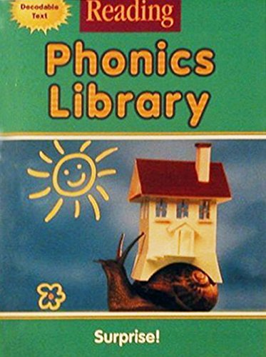 9780618161980: Houghton Mifflin Reading: The Nation's Choice: Phonics Library (9 stories) Grade 1