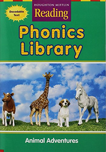 9780618162024: Houghton Mifflin Reading: The Nation's Choice: Phonics Library (9 stories) Grade 1