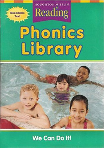 9780618162062: Houghton Mifflin Reading: The Nation's Choice California: Phonics Library Theme 10 Grade 1
