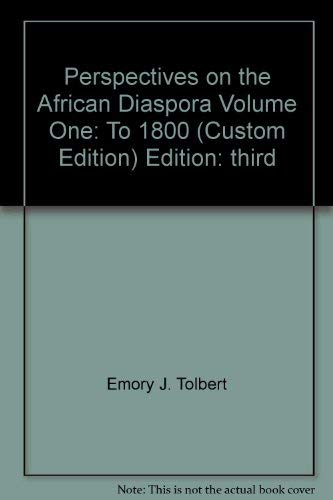 Perspectives on the African Diaspora