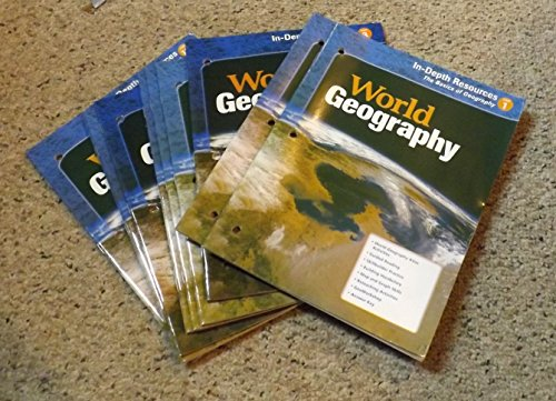 9780618162666: Holt McDougal Geography: Teacher Resource Package
