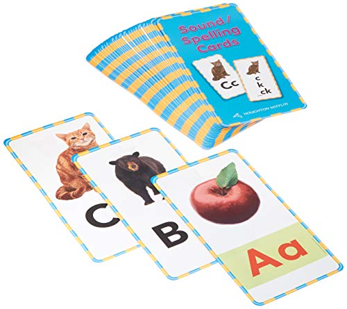 9780618162789: Houghton Mifflin Reading: The Nation's Choice: Sound/Spelling Cards Grades 1-2