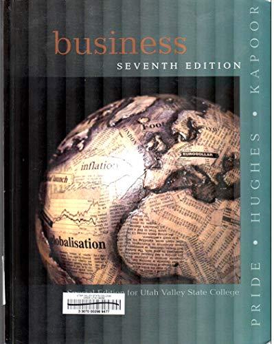 9780618163724: Business, Seventh Edition, Custom Publication