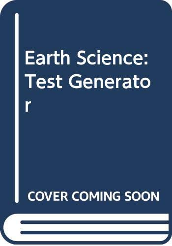 9780618164011: Earth Science: Test Generator