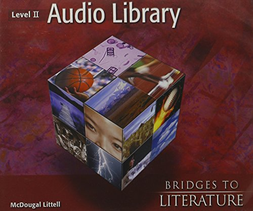 9780618164172: Language of Literature Audio Library Cd Package, Level 2 (McDougal Littell Language of Literature)