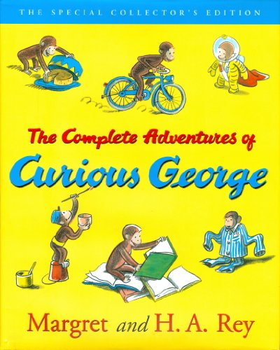 9780618164417: The Complete Adventures of Curious George, Anniversary Edition