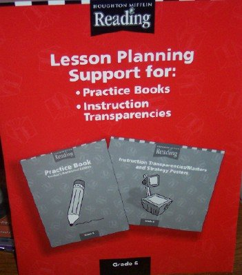 Lesson Planning Support for Practice Books & Instruction Transparencies Grade 6 (Reading): ...