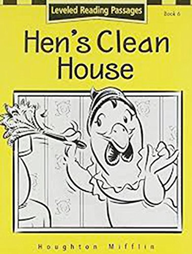 9780618166336: Houghton Mifflin Reading: The Nation's Choice: Hen'S Clean.. Lv Lv 1