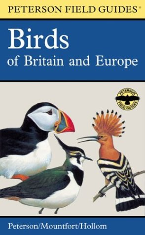 9780618166756: Peterson Field Guide to Birds of Britain and Europe