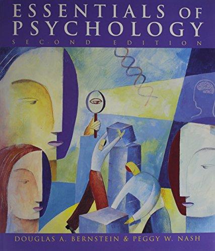 9780618169900: Essentials of Psychology