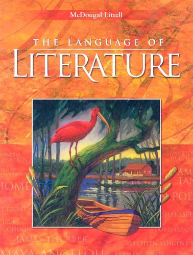 9780618170340: The Language of Literature, Grade 9