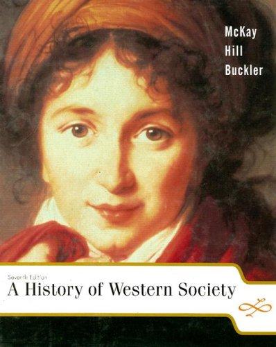9780618170463: A History of Western Society