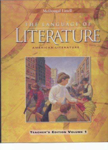 McDougal Littell - The Language of Literature,: Arthur N. Applebee,