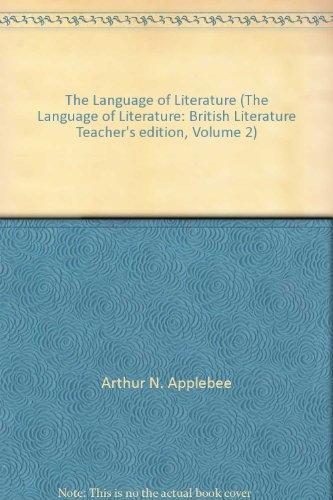 9780618170784: The Language of Literature (The Language of Literature: British Literature Teacher's edition, Volume 2)