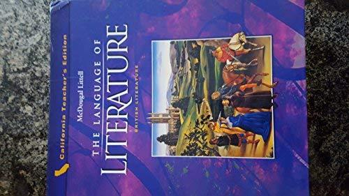 9780618170807: British Literature California Teacher's Edition (The Language of Literature)