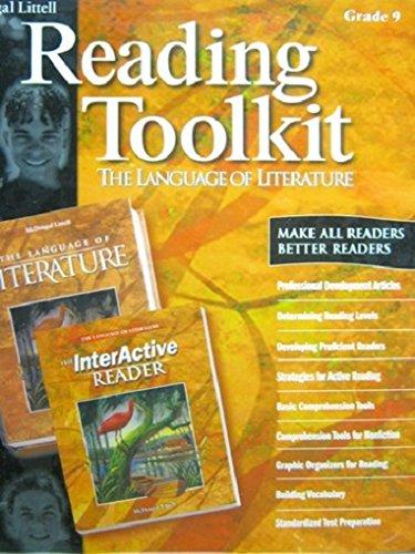 9780618173334: Reading Toolkit Grade 9