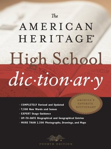 9780618173884: The American Heritage® High School Dictionary, Fourth Edition