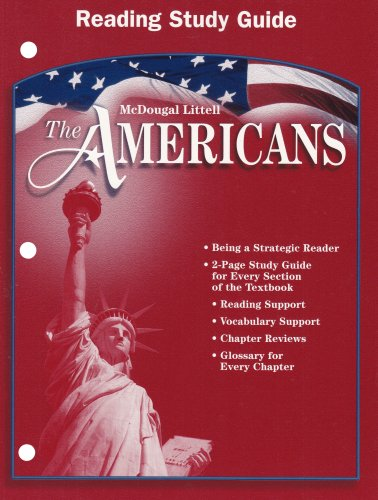 9780618175628: The Americans, Reading Study Guide
