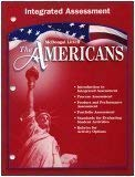 9780618175819: The Americans Integrated Assessment