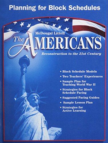 9780618176144: MCDOUGAL LITTELL THE AMER (McDougal Littell the Americans)