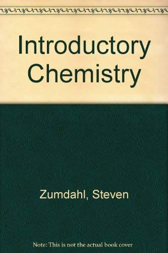 Introductory Chemistry: Zumdahl, Steven S.
