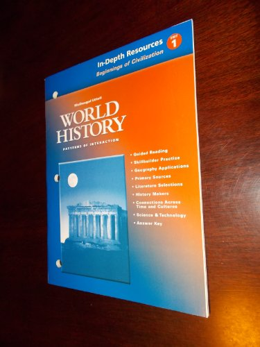 9780618182725: In-depth Resources Beginnings of Civilization Unit 1 (World History Patterns of Interaction)
