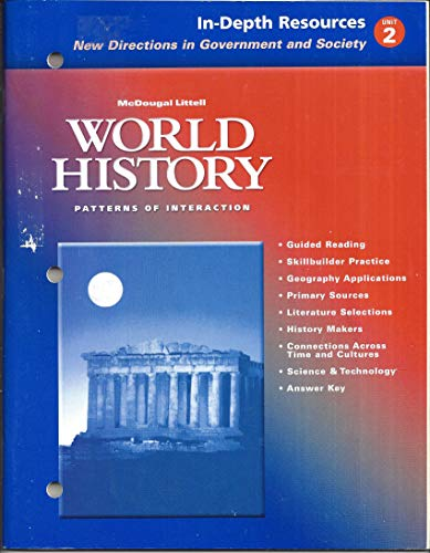 9780618182732: In-depth Resources New Directions in Government and Society Unit 2 (World History Patterns of Interaction)
