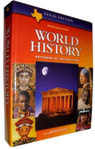 9780618183531: McDougal Littell World History: Patterns of Interaction (Texas Edition)
