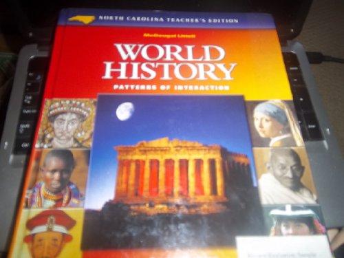 9780618183586: McDougal Littell World History: Patterns of Interaction North Carolina: Teacher s Edition Grades 9-12 2003