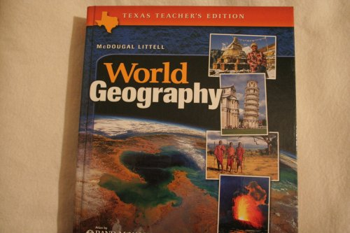 9780618184231: McDougal Littell World Geography Texas: Teacher Edition Grades 9-12 2003
