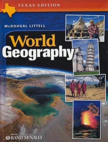9780618184248: McDougal Littell World Geography Texas: Student Edition Grades 9-12 2003