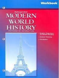 9780618184774: McDougal Littell World History: Patterns of Interaction: Reading Study Guide Grades 9-12 Modern World History