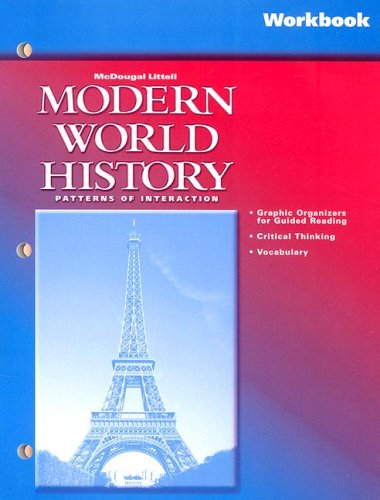 9780618184859: McDougal Littell World History: Patterns of Interaction: Workbook (soft cover) Grades 9-12 Modern World History