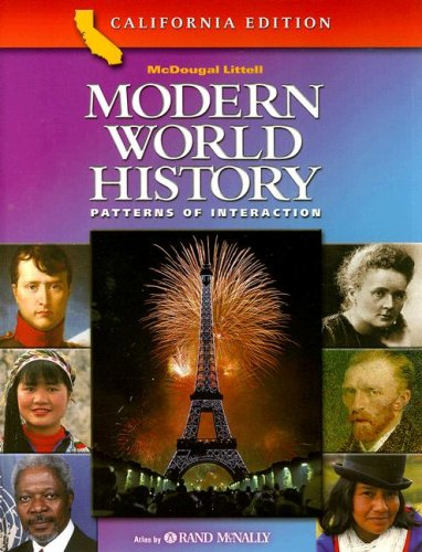 9780618184880: Modern World History Patterns of Interaction California Edition