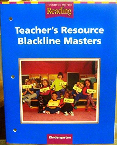 9780618185047: Houghton Mifflin Reading: The Nation's Choice California: Teacher's Resource Blackline Masters Grade K