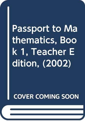 9780618186006: Passport to Mathematics, Book 1, Teacher Edition, (2002)