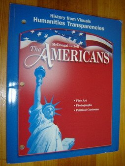 9780618187577: The Americans: Humanities Transparencies