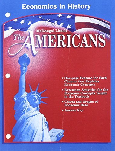 9780618187638: McDougal Littell The Americans: Economics in History Grades 9-12
