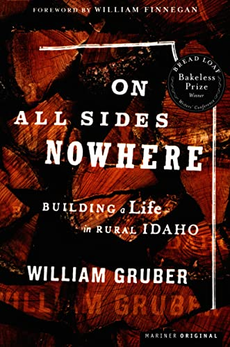 On All Sides Nowhere (Bakeless Prize): William Gruber