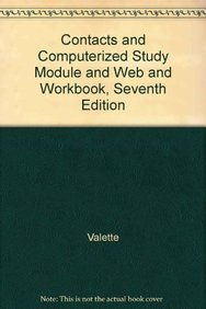 Contacts + Computerized Study Module + Web + Workbook, 7th Ed (French Edition) (9780618189984) by Valette, Jean-Paul