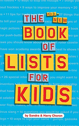 9780618191352: The All-New Book of Lists for Kids