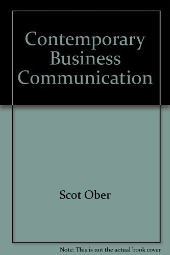 9780618191505: Contemporary Business Communication: Fifth Instructor's Annotated Edition