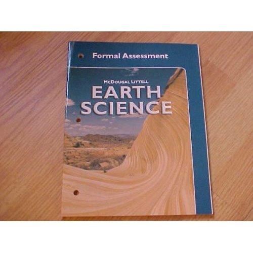 9780618192137: McDougal Littell Earth Science: Formal Assessment Grades 9-12