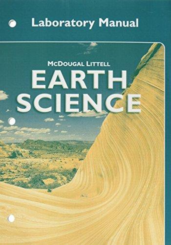Earth Science Student Lab Manual: LITTEL, MCDOUGAL