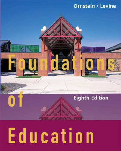 9780618192342: Foundations Of Education, Eighth Edition