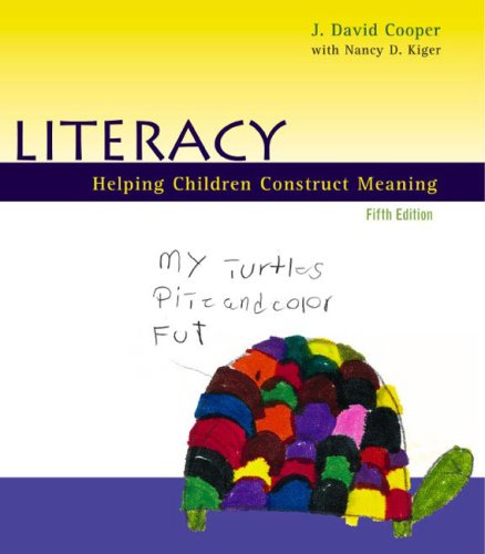 9780618192601: Literacy: Helping Children Construct Meaning, Fifth Edition