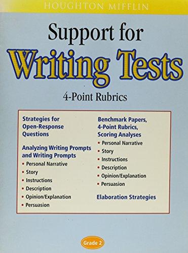 9780618194698: Houghton Mifflin English: Support For Writing Test 4 Point Scoring Rubrics Grade 2