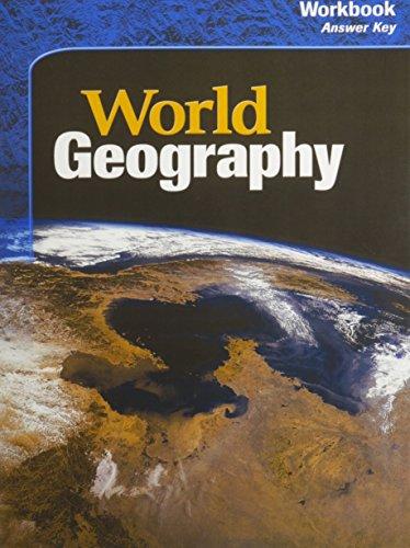 9780618194957: McDougal Littell World Geography Workbook Answer Key