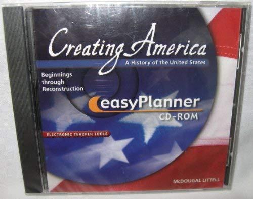 9780618194988: Creating America: Beginnings through Reconstruction: EasyPlanner CD-ROM Beginnings through Reconstruction